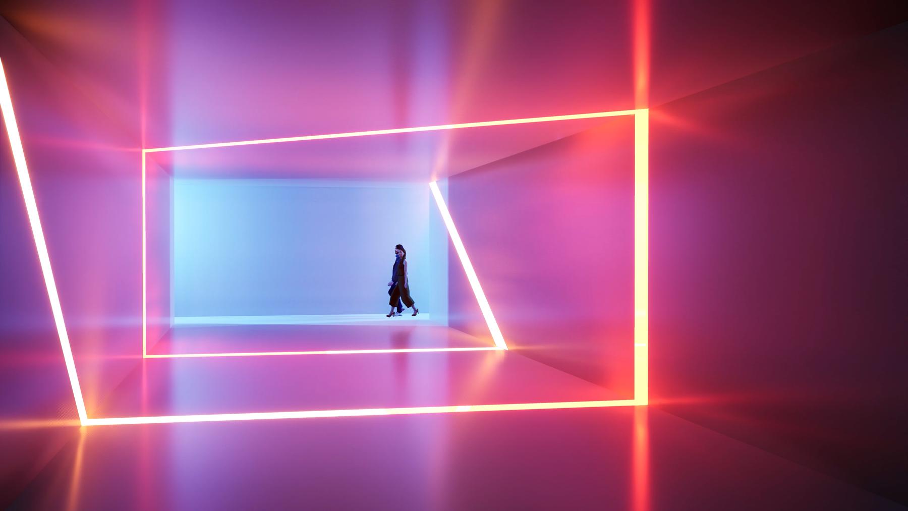 Twinmotion 2020 -materiál emitující světlo